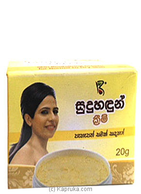 Sudu Hadun Cream at Kapruka Online for Grocery