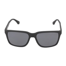 Emporio armani ea4047 506381 black rubber/Grey polarized sunglasses at Kapruka Online