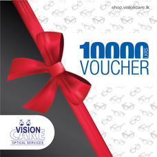Gift Vouchers Rs.10,000 By Vision Care at Kapruka Online for externalFeedProduct
