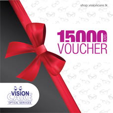 Gift Voucher - Rs.15000 By Vision Care at Kapruka Online for externalFeedProduct