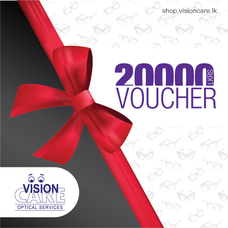 Gift Vouchers - Rs.20000 By Vision Care at Kapruka Online for externalFeedProduct