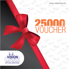 Gift Voucher - Rs.25000 By Vision Care at Kapruka Online for externalFeedProduct