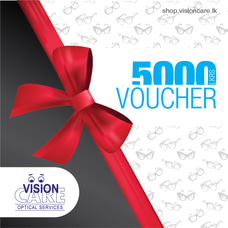 Gift Vouchers Rs.5000 By Vision Care at Kapruka Online for externalFeedProduct