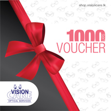 Gift Vouchers Rs.1000 By Vision Care at Kapruka Online for externalFeedProduct