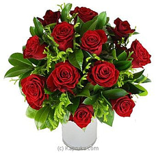 Dozen Red Rosesat Kapruka Online for intgift