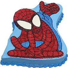 Spider Man Cake BIRTHDAYCAKE at Kapruka Online