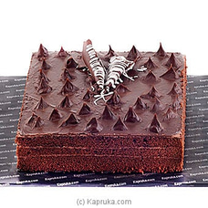 Kapruka 3 Layer Chocolate Cake - 3 Lbsat Kapruka Online for cakes