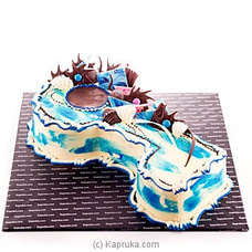 Key Birthday Cake-Blueat Kapruka Online for cakes
