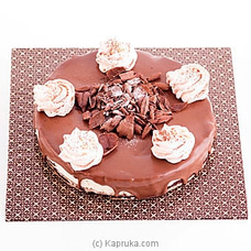 Premium Belgium Chocolate Cheese Cake(GMC) at Kapruka Online