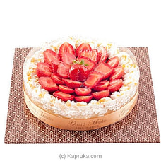 Fresh Strawberry Cheese Cake(GMC) By GMC at Kapruka Online for cakes