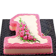 Celebrating First Birth Dayat Kapruka Online for cakes