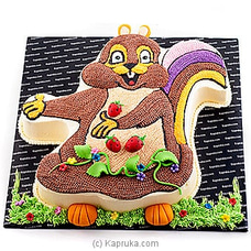 Cheeky Chipmunk In The Strawberry Patchat Kapruka Online for cakes