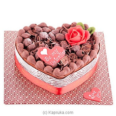 Be My Valentine Chocolate Truffle(GMC) By GMC at Kapruka Online for cakes