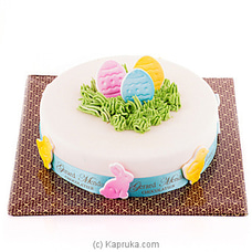 Easter Garden Eggs Cake(GMC) By GMC at Kapruka Online for cakes