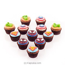 Super Hero Cupcakes at Kapruka Online