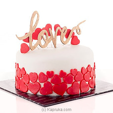 ` Crazy In Love ` Kapruka Ribbon Cakeat Kapruka Online for cakes