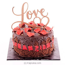 ` The Promise in a Kiss ` Chocolate Cakeat Kapruka Online for cakes