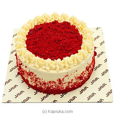 Java Red Velvet Cake at Kapruka Online