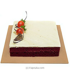 Cinnamon Lakeside Red Velvet Cake By CINNAMON LAKESIDE at Kapruka Online for cakes