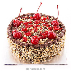 Divine Chocolate Cherry Brandy Cake at Kapruka Online