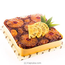 Java Classic Upside-Down Pineapple cake at Kapruka Online