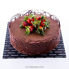 Strawberry Delight Chocolate Gateau at Kapruka Online