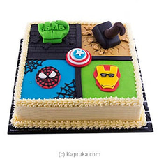 All-In-One Superheroes Cake at Kapruka Online