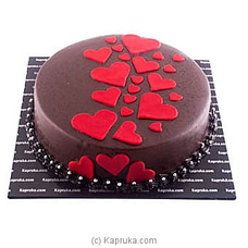 Dark Chocolate Heart Cakeat Kapruka Online for cakes