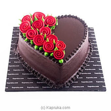 Choco Love Rose Cakeat Kapruka Online for cakes