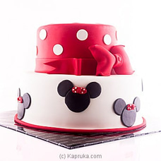 Fabulous Minnie Mouse Cake BIRTHDAYCAKE at Kapruka Online