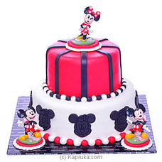 Minnie And Mickey Ribbon cakeat Kapruka Online for cakes