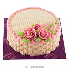 Divine Flower Basket Cake at Kapruka Online