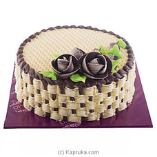 Divine Flower Basket Chocolate Cakeat Kapruka Online for cakes