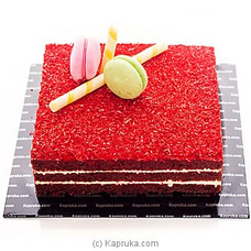 Blooming Blush Red Velvet Cake at Kapruka Online