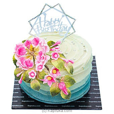Floral Greetings Birthday Cake at Kapruka Online