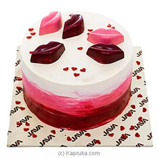 Java Sealed With Kisses Cakeat Kapruka Online for cakes