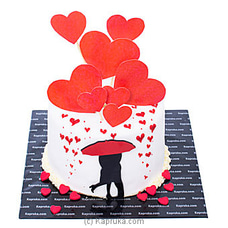 Heart Petals Ribbon Cakeat Kapruka Online for cakes