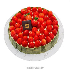 Shangri-la - Baked Strawberry Cheese Cake at Kapruka Online