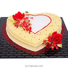 My Romantic Moment Ribbon Cake at Kapruka Online