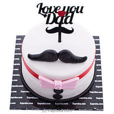 Love You Dad Ribbon Cakeat Kapruka Online for cakes