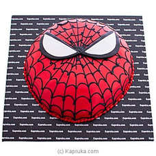 Super Hero Spider Man Ribbon Cake BIRTHDAYCAKE at Kapruka Online