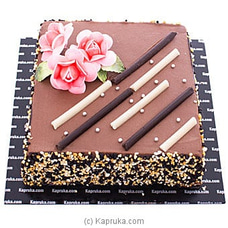 Choco Stripes Chocolate Cakeat Kapruka Online forcakes