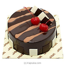Chocolate Cherry Ganache Cakeat Kapruka Online for cakes