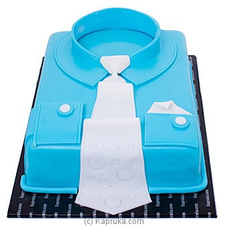 Blue Collar Ribbon Cake at Kapruka Online