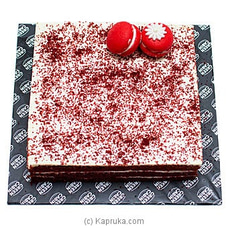 Red Velvet Cake (Large) By Green Cabin at Kapruka Online for cakes