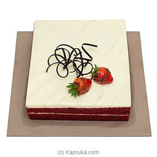 Cinnamon Lakeside Red Velvet Cake at Kapruka Online