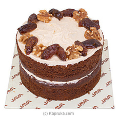 Java Date And Walnut Cakeat Kapruka Online for cakes
