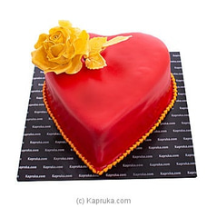 Red Heart For You Valentine Cakeat Kapruka Online for cakes