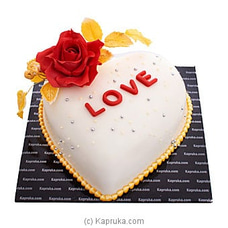 A Romantic Tale Ribbon Cakeat Kapruka Online for cakes