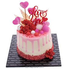 `Love You` Chocolate Cakeat Kapruka Online for cakes